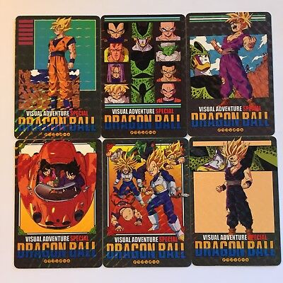 Dragon Ball - Visual Adventure - Prism Set Part SP SPECIAL - NOT OFFICIAL