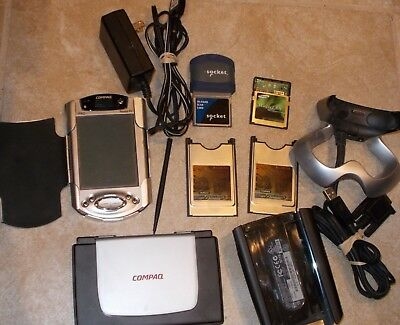 Compaq Ipaq 3955 with extras Used Tested