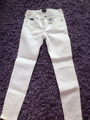 Bardot Junior Girl's Denim White Jeans Size AUS 8 NEW with tag