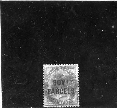 Great Britain 1897 Scott# O37 Official canceled