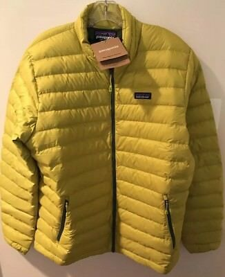 NWTs Patagonia Men's Down Sweater Jacket. Large. Fluid Green (retail $229)