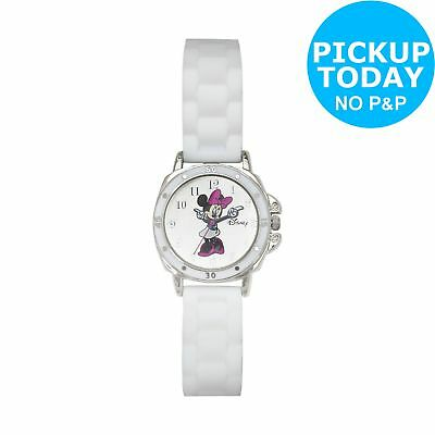 Disney Minnie Mouse AMN1064 White Dial and Silicone Strap Watch