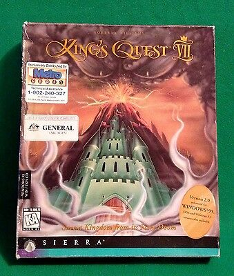 King's Quest VII (rare and collectible)