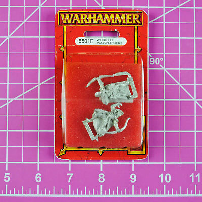 Warhammer Fantasy Wood Elf Waywatchers - Metal OOP Games Workshop Citadel Elves