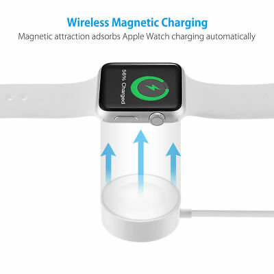 Magnetic Charging Cable Dock Charger For 38/42mm Apple Watch iWatch 2 3