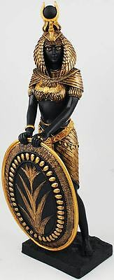 Isis Winged Statue Egypt Egyptian Goddess Mother Magic Nature Black Gold Protect