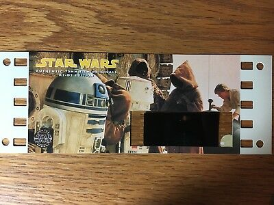 Star Wars - R2 - D2 Edition Authentic 70mm Film Original  Cell Card
