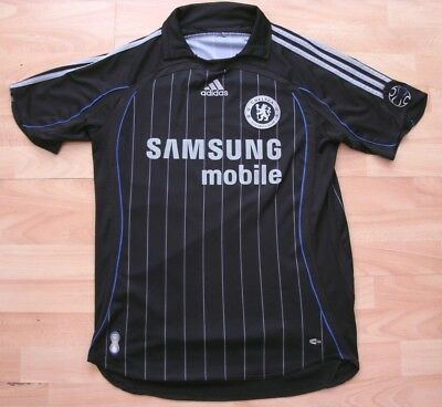 CHELSEA 2006-2008 AWAY adidas FOOTBALL SOCCER SHIRT JERSEY TOP MEDIUM ADULT