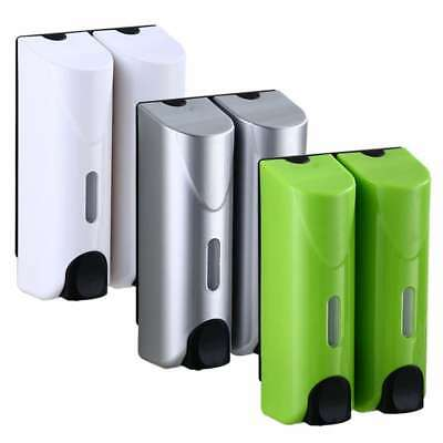 Soap Dispenser Wall Mount Singe/Double Shower Shampoo Box Pump Lotion Holder