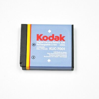 Original OEM Kodak KLIC-7001 KLIC7001 Battery For M341 M340 M320 M1073 M863