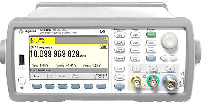 NEW Keysight Agilent 53220A Universal Frequency Counter 350MHz 100ps Opt 010,106