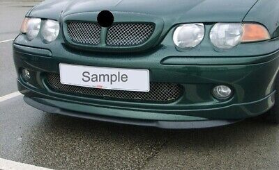 MG ZS Rover 45 MK2 00-05 Front Bumper Cup Chin Spoiler Lip Valance Wing Splitter