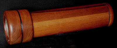 Wooden 3-Mirror Dry-Cell Kaleidoscope Handcrafted for Levenger by Van Cort