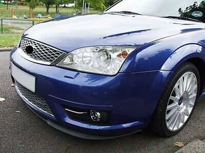 For Ford Mondeo MK3 3 Front Bumper Cup Chin Spoiler Lip Sport Valance Splitter