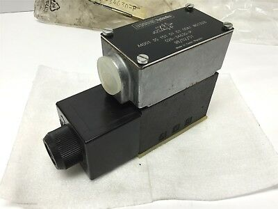 Denison A4D01 35 151 01 01 Hydraulic Directional Control Solenoid Valve 115VAC