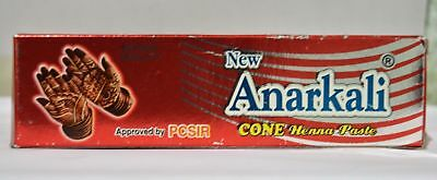 NEW Anarkali Cone Henna Paste 30g FREE SHIPPING WORLD WIDE