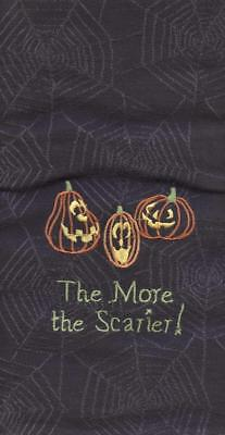 **dish Towels The More The Scarier Halloween 28 X 19 Park Designs