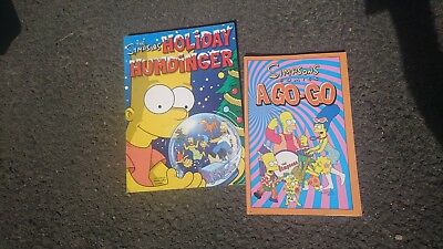 2x The Simpsons Comic Books