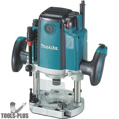 "Makita RP2301FC 3-1/4 HP 15.0 Amp 2-3/4"" Variable Speed Plunge Router New"