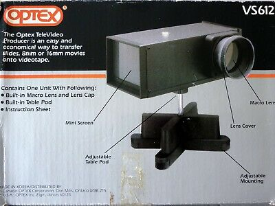 Boxed OPTEX Realisteur Televideo VS612 Multi Transfer Unit + Instructions