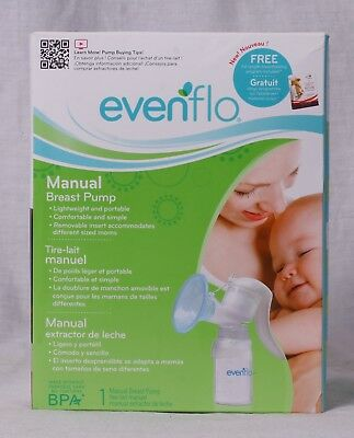 New & Sealed Evenflo Portable Manual Breast Pump