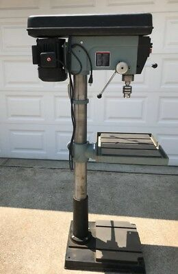 "Delta Woodworking 1HP Drill Press 20"" Model 70-200 with 9 Speeds MINT"