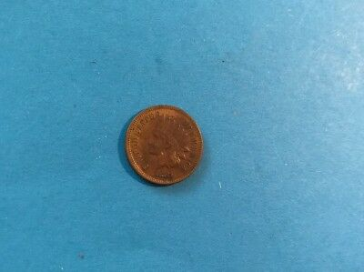 USA One Cent 1881 Indian Head