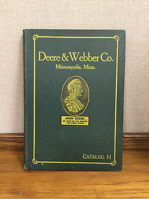 RARE John Deere Catalog H 1920's -- VG Condition! FREE expedited shipping!!