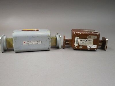 Mixed Lot of 2 Waveguide Attenuator WR62, WR90