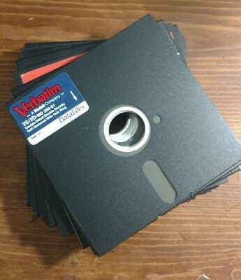 Lot Of 20 Used 5.25 Floppies Floppy Disks Disc~Ships Free