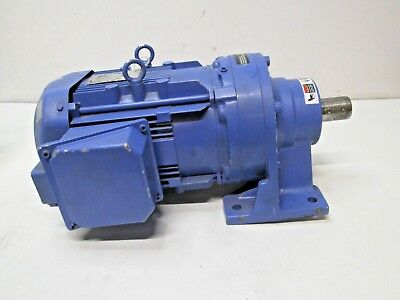 "Sumitomo Cyclo 6000 Gearmotor CNHM3-6125YB-EP-35 3HP 1.5"" SHAFT USED FREE SHIP"