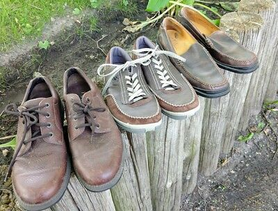 Lot of Three Men's Shoes--Sperry Top-Sider, LaCoste & Cole Haan---Size 11.5-Nice