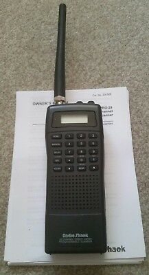Handheld scanner Radio Shack Pro-28 30 Channel Direct Entry Programmable