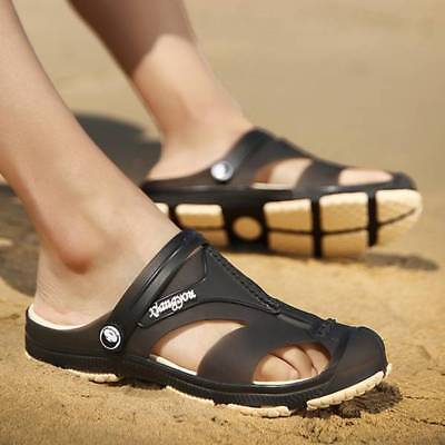 New Mens Walking Sports Hiking Summer Beach Mules Sandals Shoes More Size Choice