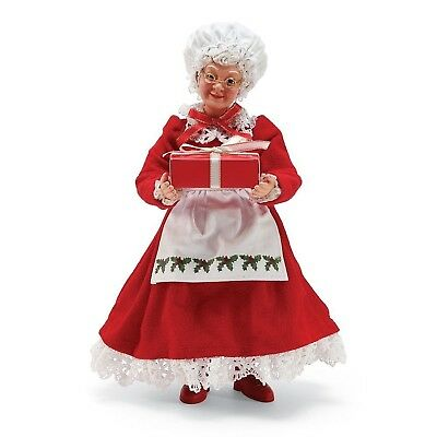 Department 56 Possible Dreams 6002727 Mrs Claus w/ Gift Box Figurine NEW NIB
