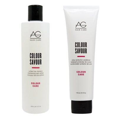 AG Hair Care Colour Savour DUO Sampoo10 oz. & Conditioner 6 oz.