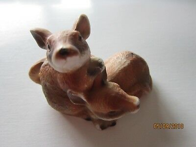 Porcelain Rat Mice Figurine Friendly Playing Cute guys