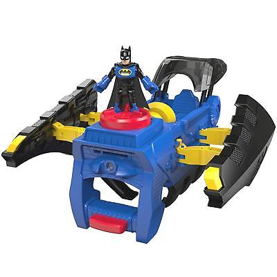 NEW Imaginext DC Super Friends 2 in 1 Batwing Batman Gauntlet Fisher-Price DTP99