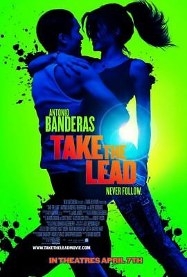 TAKE THE LEAD great original 27x40 D/S movie poster