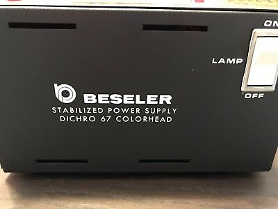 Beseler 67C Stabilized Power Supply