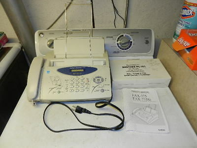 Brother Intellifax 775 Plain Paper Fax with Phone and Copier, plus cartridge!