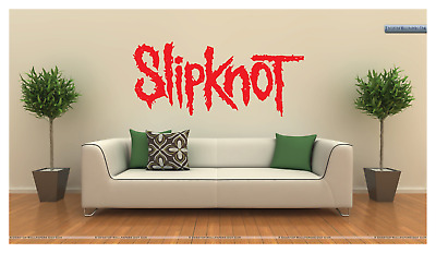 """Slipknot LOGO 36"""" WIDE LARGE WALL VINYL DECAL - YOUR CHOICE OF COLOR - REMOVABLE"""
