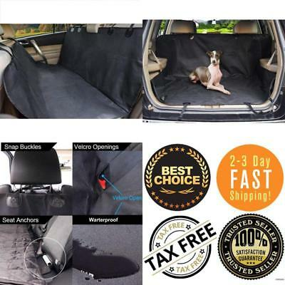Pet Car Seat Cover For Dogs Cats Back Hammock Protector Mat Waterproof Non Slip
