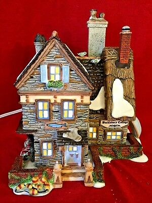 Buckleberry Cottage Dept 56 Dickens Village 804439 Christmas house snow city A