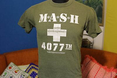 1983 Authentic Mash 4077th 20th Century Fox Games Of The Century Vtg Tee T-Shirt