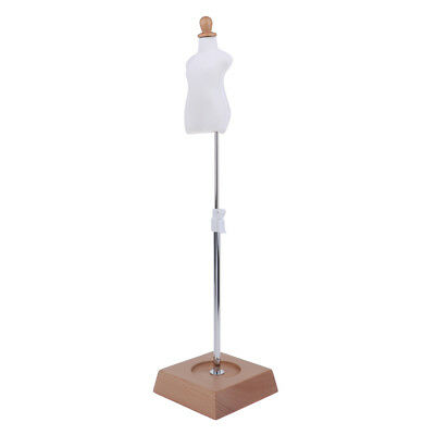 1: 6 Doll Rings Jewelry Display Stand Doll Clothes Displaying Support Holder