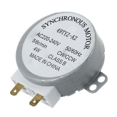 AC 220-240V 50/60Hz 5/6RPM 4W Turntable Synchronous Motor for Microwave Oven FK