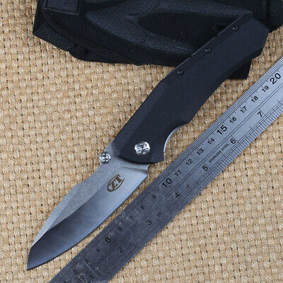 Rescue Tools Hunting Knife Black 9cr18mov Stainless Steel Pocket Folding Knife