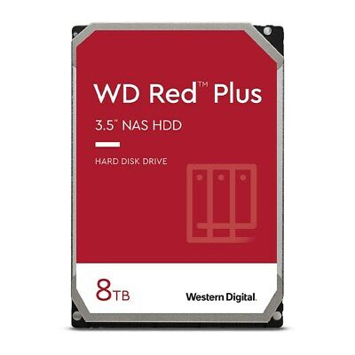 "8TB NAS HDD WD Red 3.5"" SATA Internal Hard Drive 5400RPM 256MB Western Digital"
