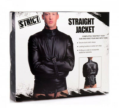 Camicia di forza Straight Jacket Strict Bondage Fetish BDSM Giacca Sex toys Shop